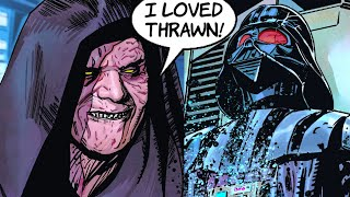 SIDIOUS ADMITS TO DARTH VADER THAT HE MISSES THRAWN!(CANON) - Star Wars Comics Explained