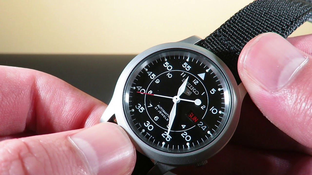 Best Automatic Watches >> Seiko 5 SNK809 Automatic Mens Watch Review the BEST WATCH ...