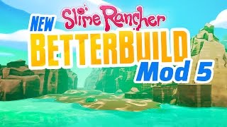 In this episode we're building a slime rancher beach just down behind the lab. betterbuild mod is super useful for position objects right. thanks fo...