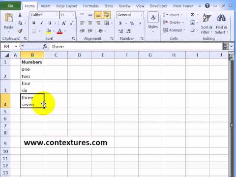 Find and Replace Line Breaks in Excel – Contextures Blog