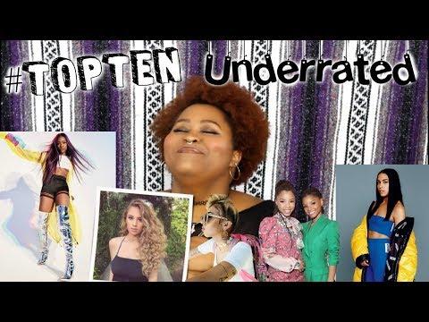 My TopTen UnderratedUnderground Artists