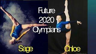 2 Future Olympians - Sage & Chloe (2020)