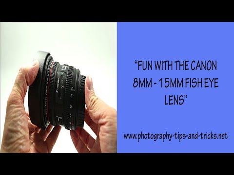 Fun With The Canon 8mm - 15mm F4L Fish Eye Lens