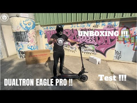 Unboxing Test Dualtron Eagle Pro !!! Trottinette Electrique ! #Scooter #ElectricScooter #Dualtron