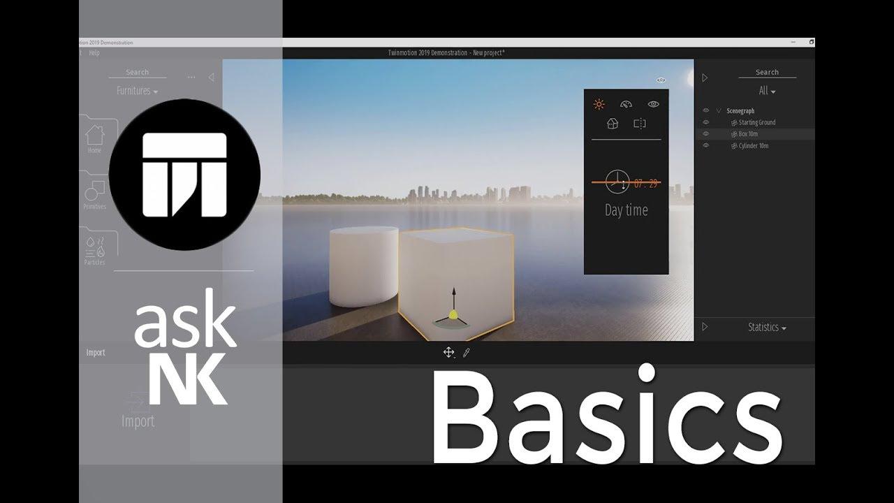 TwinMotion 2019 - Basics