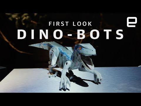 Jurassic World dino-bots First Look