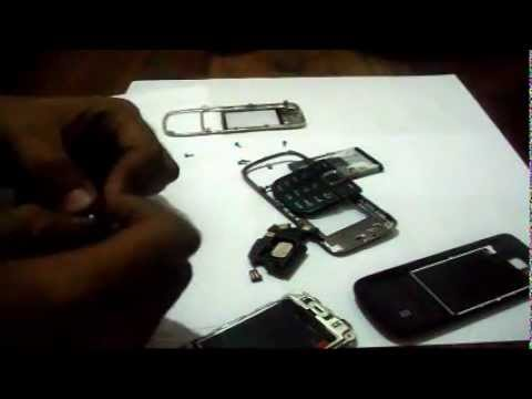 Nokia 2700c lcd Display and full panel replacement disassembly