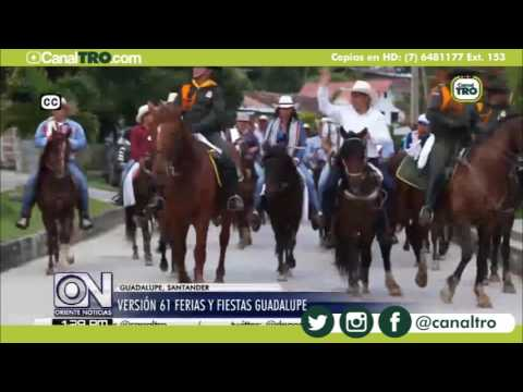 Versión 61 ferias y fiestas de Guadalupe, Santander