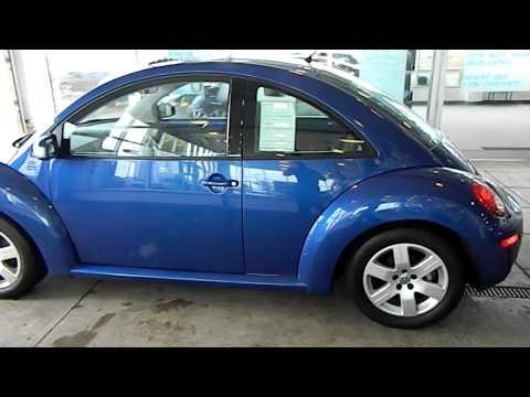 Laser Blue 2007 VW Beetle @ Eastside Volkswagen in Cleveland, Ohio
