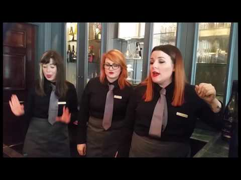 Move over Opera, here comes the Diva Singing Waiters to steal the show!