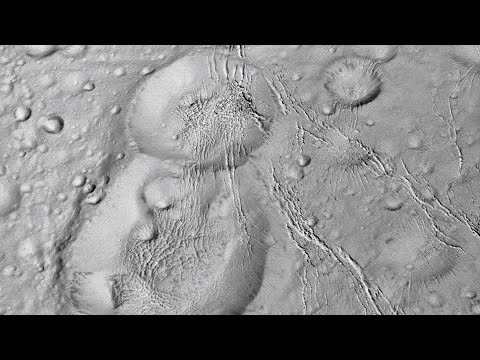 """Cassini's """"Over the Pole"""" Enceladus Flyby 