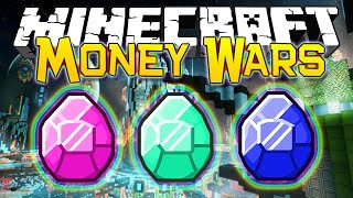"Minecraft: ""SPACE CASH $$"" MONEY WARS #11 (Epic Mini-Game)"