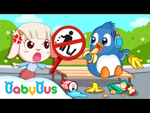 Green Care Of The Environment | Science Video For Kids | Animation For Babies | BabyBus
