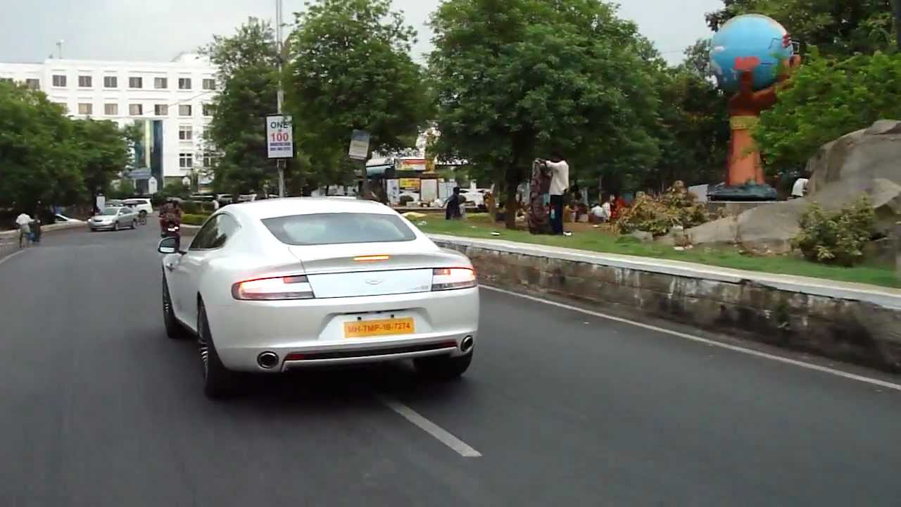 Aston Martin Rapide In Hyderabad India Youtube