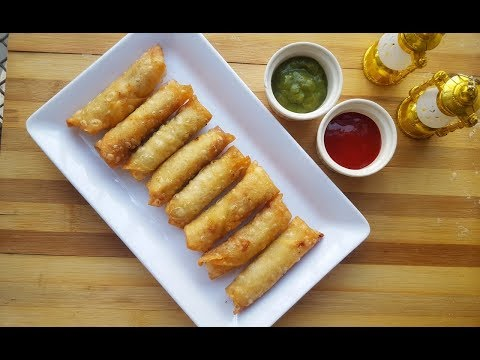 Mini Potato Spring Rolls (Ramadan Special) by YES I CAN COOK