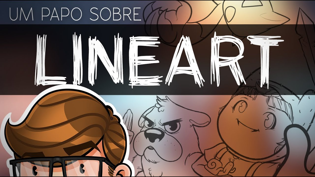 Yamio Lineart : Um papo sobre lineart linework youtube