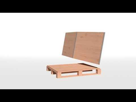 NO-NAIL BOXES - fabricant de caisses pliantes en contreplaqué