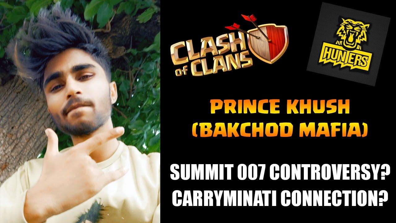 Sumit 007 Controversy Aur Carryminati Se Connection? - Prince Khush(Bakchod MAFIA ) Interview | COC