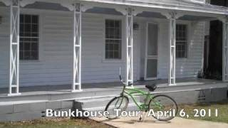The Bunkhouse Tour. Greensboro Alabama. The House Black Belts Built