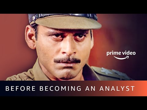 Manoj Bajpayee Before Becoming An Analyst | Amazon Prime Video