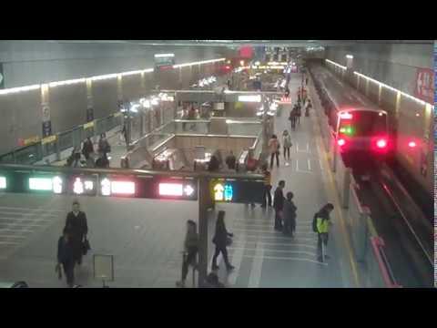 ❨4❩ 日本人驚嘆台北捷運(地下鉄)。紛紛慕名前來。Taiwan Taipei MRT. metro. subway. railway. 地鐵