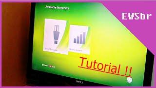 Conectando a internet no XBOX 360 ! tutorial