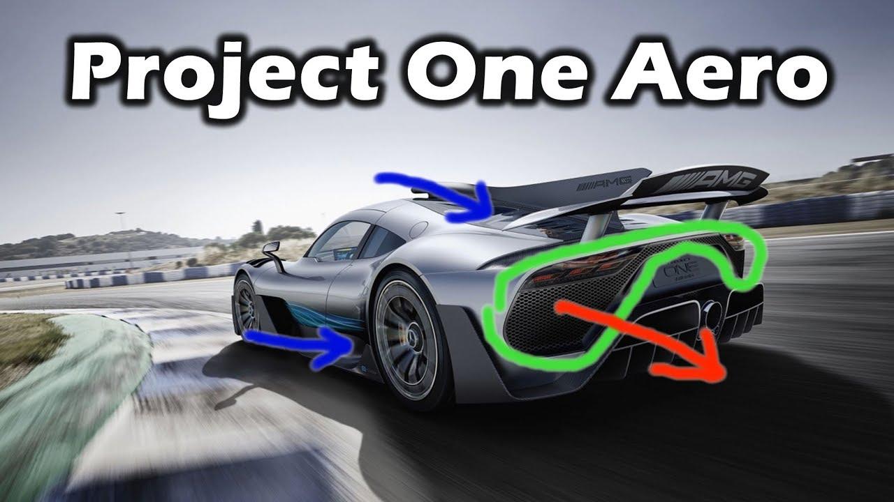 Mercedes Project ONE Aerodynamics Analysis & Breakdown