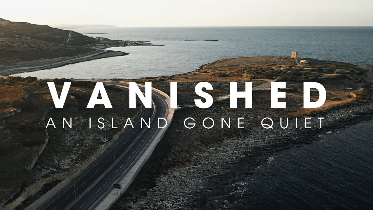 VANISHED - An island gone quiet as hit with COVID-19 // DJI Mavic2Pro