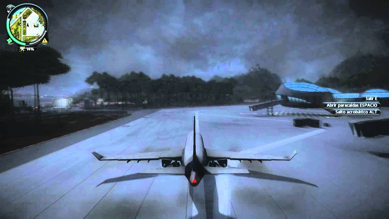 Just Cause 2: 3 Airplane Crashes - YouTube