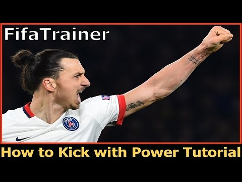 How to kick with power and improve weak foot shooting!