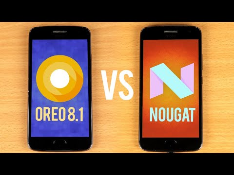 Android Oreo 8.1 vs Nougat SPEED TEST | Oreo and Nougat Performance Comparison!