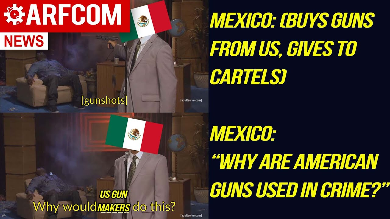 Why Is Mexico Suing So Many American Gun Makers?