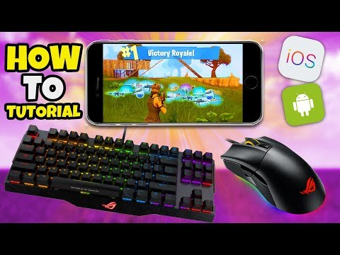 Keyboard & Mouse HACK / CHEAT Fortnite Mobile - Fortnite IOS Android Controller Secret MOD