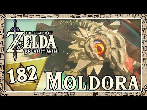 THE LEGEND OF ZELDA BREATH OF THE WILD Part 182: Überraschender Zusammenstoß mit Moldora