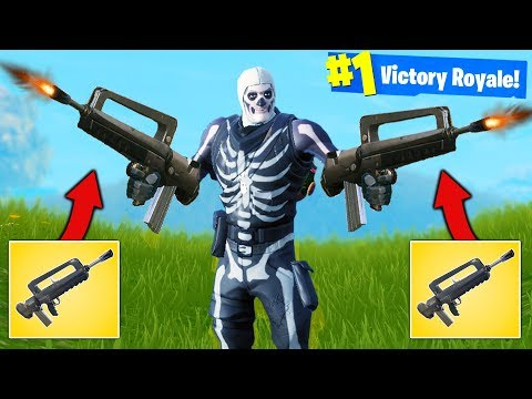 *DOUBLE* FAMAS BURST RIFLE Strategy - Fortnite Battle Royale