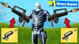 *DOUBLE* FAMAS BURST RIFLE Strategy - Fortnite Battle Royale thumbnail