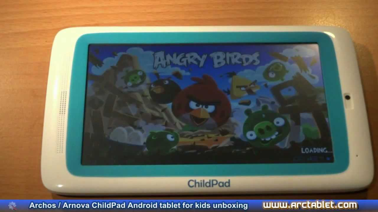 Archos Arnova ChildPad review, Android tablet for kids ...