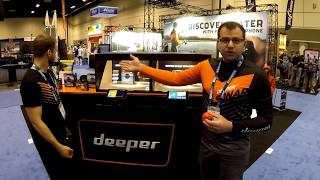 Deeper Smart Sonar Fishfinder at ICAST 2017