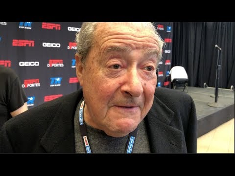 'JOSEPH PARKER IS GOING TO BEAT ANTHONY JOSHUA - I BEEN TELLING EVERYONE!' - BOB ARUM