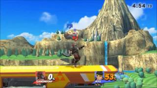Opana's 2017 SSB4 Ganondorf Highlights Montage and Combo Video