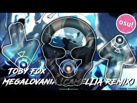 Playing Camellia's MEGALOVANIA REMIX in osu!