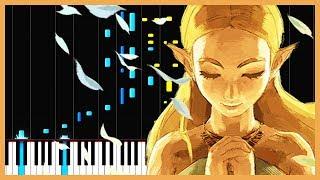 Main Theme The Legend Of Zelda Breath Of The Wild Piano Tutorial Zebeldarebel