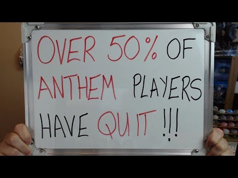OVER 50% of ANTHEM PLAYERS Have Already QUIT THE GAME!! |