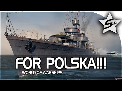 """""""FOR POLSKA, POLISH SHIP (BLYSKAWICA)!"""" - World of Warships Gameplay PC"""