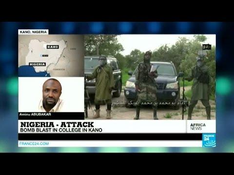 Nigeria attack: Bomb blast in collegen Kano