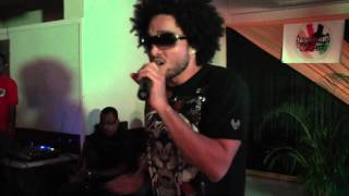 Conkarah performing at the IrieZine Media Launch (part 1)
