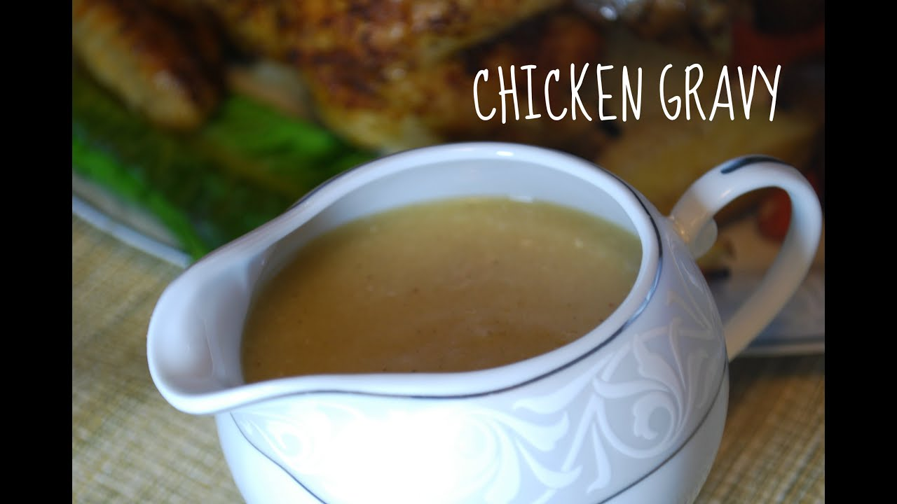 Chicken Gravy From Drippings Youtube