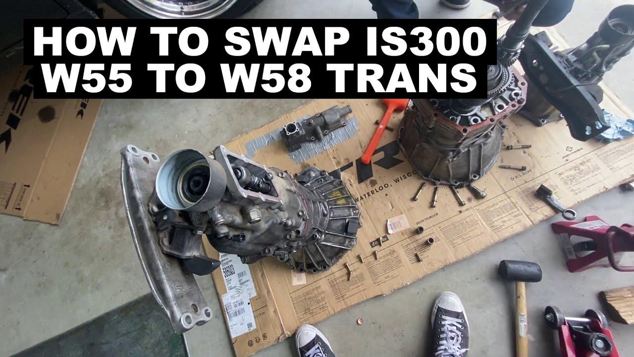 Is300 Manual W55 To W58 Swap Youtube