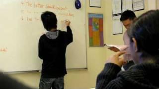 我們上課的時候 是這樣的