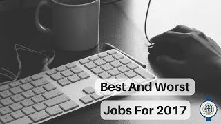 Catherine Marrs discusses LIVE the best and worst jobs for 2017